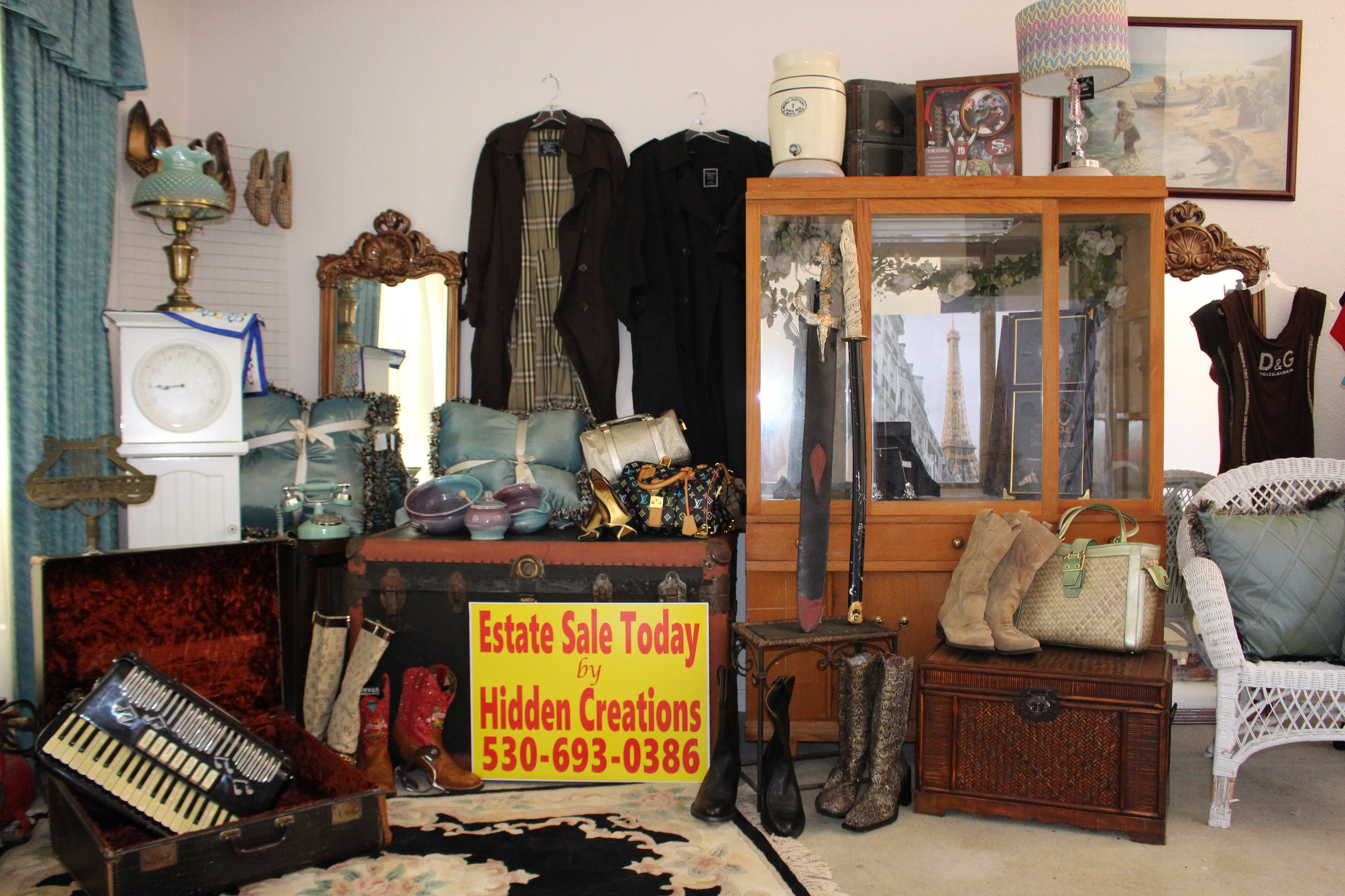 Estate Sale Services Yuba City CA